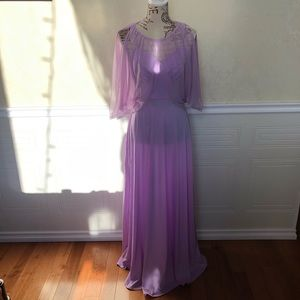 Vintage DeadStock Lilac Dress